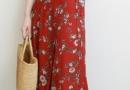 遮肉显瘦的半身长裙 复古有味的半身长裙