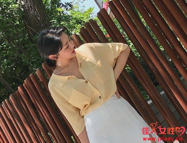 夏季不规则的半身裙 让你穿的更独特