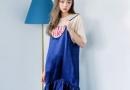 韩版吊带裙图片 加足撩人指数