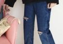 BF风男友直筒裤 BF风的牛仔直筒裤怎么搭配好看