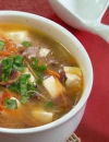 红白豆腐酸辣汤的做法 红白豆腐酸辣汤是怎么做的