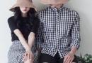 七夕穿情侣装装约会 时髦好看的韩系情侣装搭配