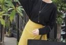 极简主义的少女穿搭 秋季极简风女装穿搭示范