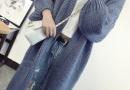 中长款开衫外套怎么搭配 宽松显瘦毛衣开衫搭配