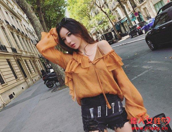 2017秋初新款女装 时尚好看的秋季新款女装长袖单