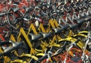 叫停共享单车投放 乱停乱放成为城市的诟病