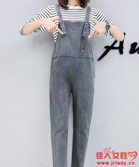 灰色背带裤配什么颜色衣服 什么颜色背带裤好看