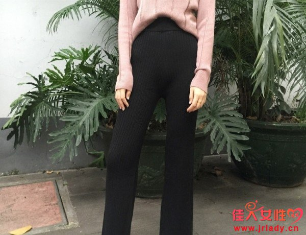 腿粗屁股大的女孩穿什么裤子 显瘦款的长款