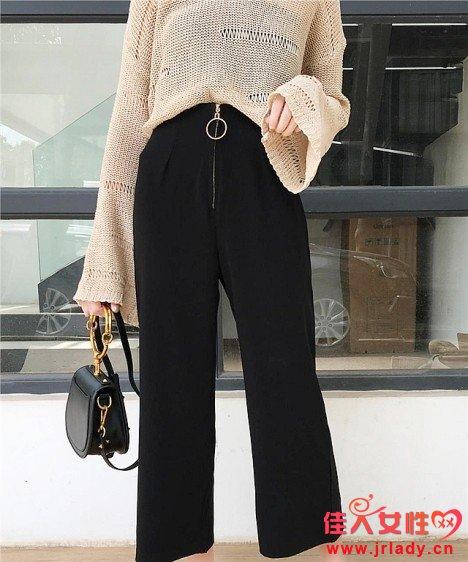 秋季高腰阔腿裤怎么搭配显瘦 高腰阔腿裤配什么