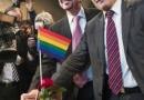 同性婚姻合法是真的吗 德国迎来第一对同性新人