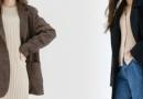 秋季外套长裤混搭出超有sense的休闲风