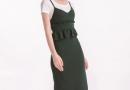 小心思花边服装怎么穿 绿色裙装怎么样