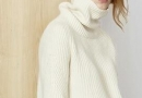 纯白色毛衣 这个冬季你还未拥有吗