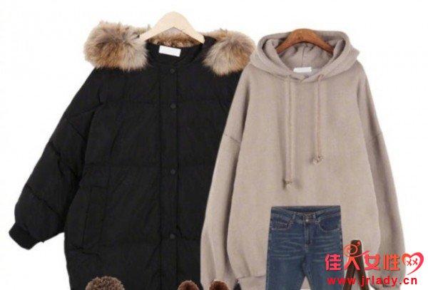 天冷了就要穿棉服大衣 好看有型又保暖