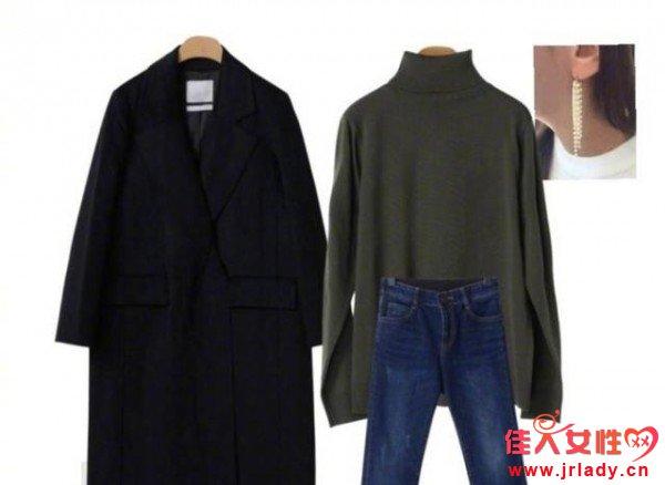 黑色呢子大衣应该怎么穿 如何将黑色大衣穿出彩