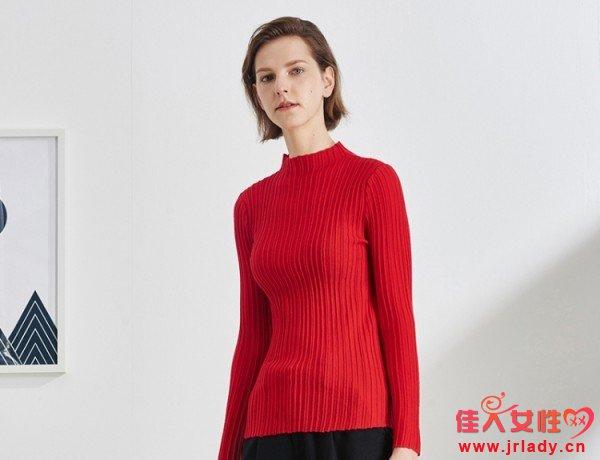 纯色针织衫好看吗 纯色针织衫有哪些好看的款式