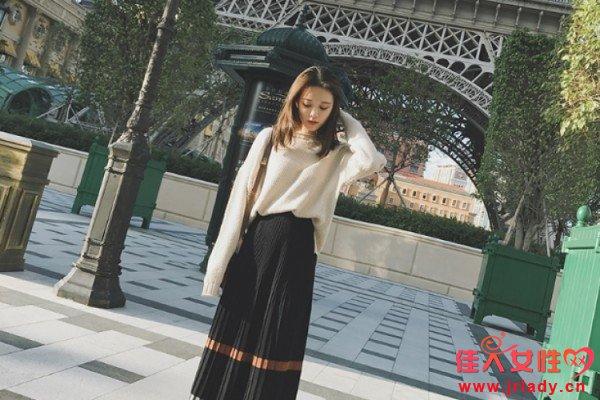 2017流行穿什么款式的半身裙 冬季新款半身裙