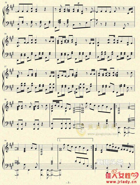 圈9极乐净土中文版钢琴谱 极乐净土中文版简谱