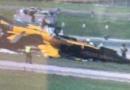 新加坡航展出事故 事故原因现场图片