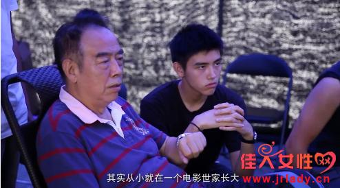 陈飞宇18岁生日影像曝光 陈凯歌手把手教儿子演戏