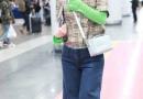 """吴昕机场造型被嘲 身穿阔腿牛仔长裤脚踩""""老爹鞋""""就是这么自信"""