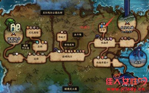 dnf6月8日瑞狮npc位置在哪 dnf瑞狮每日位置图汇总