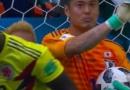 日本门将不诚实是怎么回事 进球捞球完整视频回放