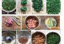 素馅荠菜饺子的做法大全图解