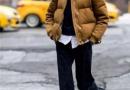 阔腿裤和羽绒服也能穿出时髦感