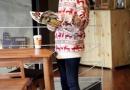 时尚大气一款毛衣裙 时尚达人的备款
