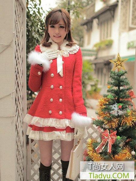 年末约会!圣诞玩转糖果色美搭