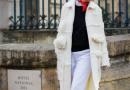 白色大衣搭配什么颜色围巾 关键看整体着装色调