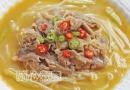特别过瘾的一道菜酸汤肥牛金针菇的做法大全