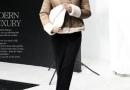 时尚经典款式设计 给人以完美女人气质感