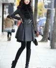 日韩系毛呢大衣 打造甜美新年装