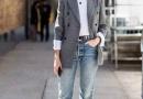 外套+牛仔裤 应对清明忽冷忽热天气
