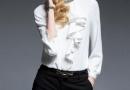春季女士衬衣长袖雪纺衫怎么穿好看有魅力