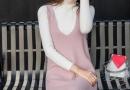 潮流新趋势冬天的背心裙怎么搭配衣服
