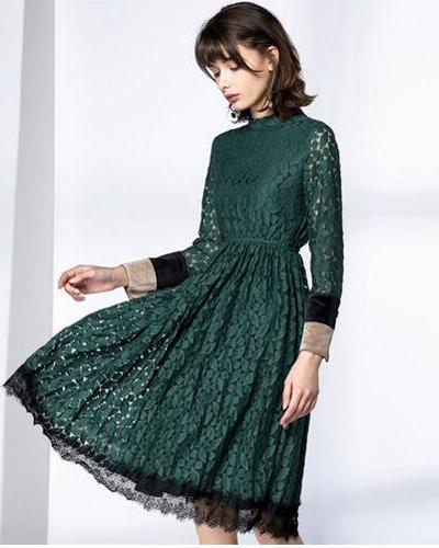 2017春季新款连衣裙图片