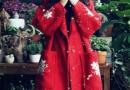 外套大红色配什么颜色好看图片