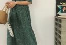 蝴蝶结、方领、碎花裙 8大单品复制韩妞夏季穿搭