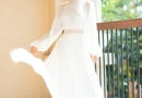 谢娜产后瘦身成功 穿白色长裙美若仙子