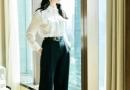 刘亦菲穿白衬衫又帅又美 夏天白衬衫搭配